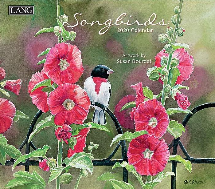 The Best Calendars Susan Bourdet Garden Birds