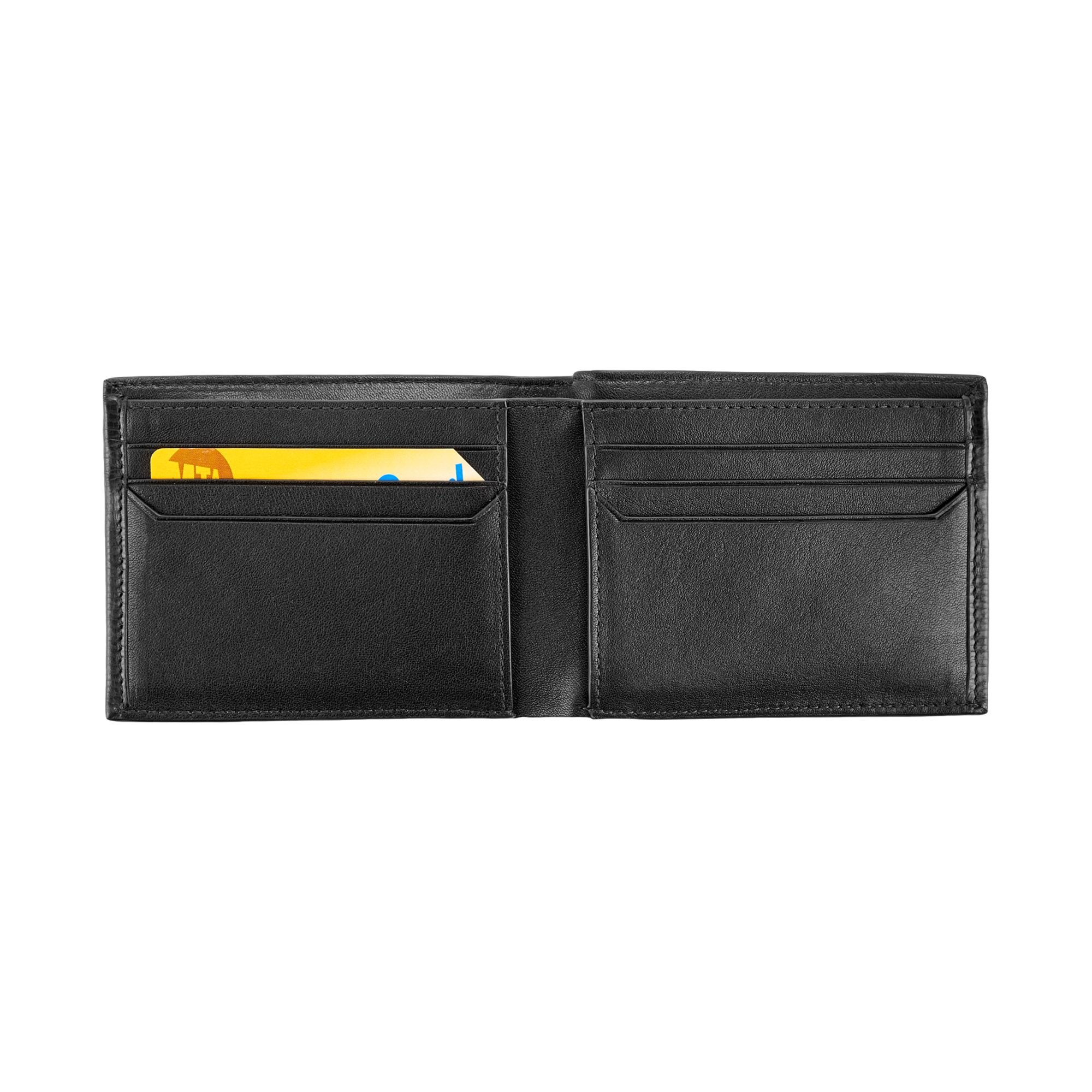 TUMI Men's Monaco Double Billfold, black, one size