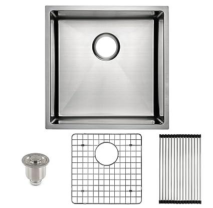 Frigidaire Undermount Stainless Steel Kitchen Sink, 10mm Radius ...