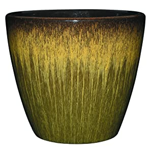 """Classic Home and Garden 3/807G/1 Vogue Planter, 8"""", Willow Green"""