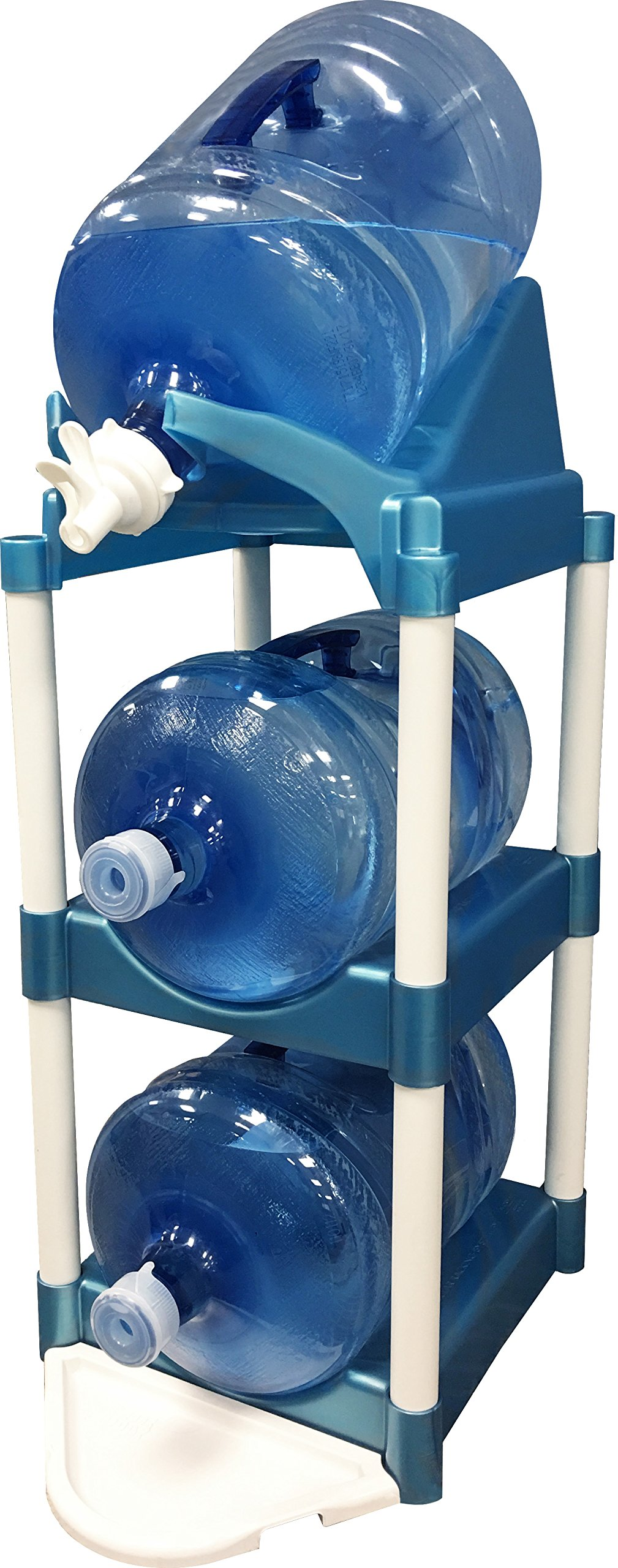 Bottle Buddy TBB85007 Pour & Store, Blue Cascada Pour and Store System, One,