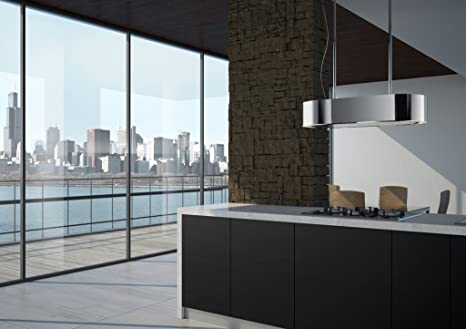 Best Outline Decorativa Acero inoxidable 780m³/h - Campana (780 m³/h, 49 dB, 72 dB, Decorativa, Acero inoxidable, 100 W): Amazon.es: Hogar