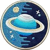 """Aufnäher / Iron on Patch """" Space Explorer """" (Rund)"""