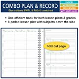 Combination Wide Plan and Record Book: One