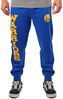 UNK NBA Mens Jogger Pants Active Basic Soft Terry Sweatpants, Team Color