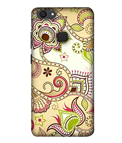 brand new d6f44 c0352 Printfidaa Vivo V7 Plus Back Cover Traditional Indian: Amazon.in ...
