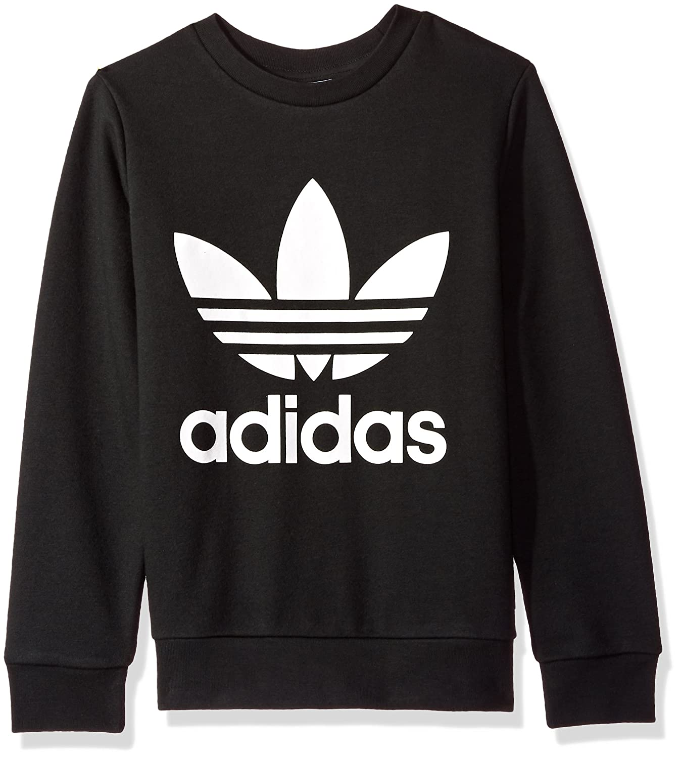 adidas Originals Big Boys Originals Trefoil Crew Sweatshirt CF8569