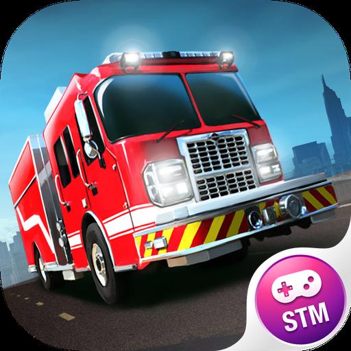 Feuerwehrautorennen 3D Free