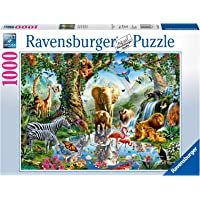 Ravensburger 19837 - Adventures in The Jungle 1000pc Jigsaw Puzzle
