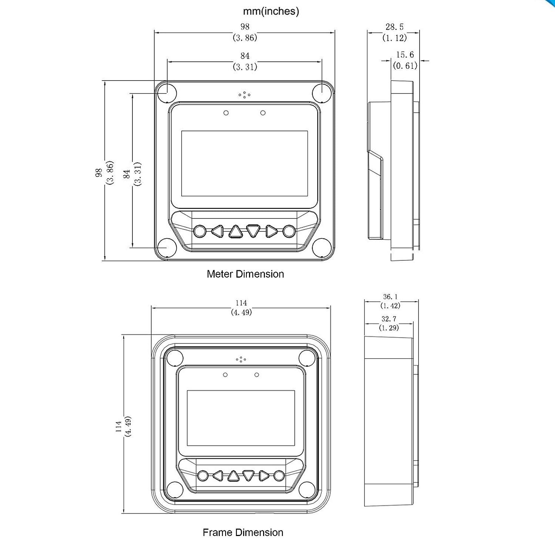 20A EPEVER MPPT Controlador de Carga Solar Trazador A Serie 10A 10 A 30A 40A con 12V 24V DC Automatically Identifying System Voltage