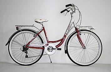 Bicicleta clásica de ciudad tipo holandesa para mujer, rodado 26 ...
