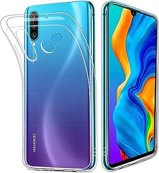 HOOMIL Transparente Silicona Funda para Huawei P30 Lite, Clear Carcasa Case para Huawei P30 Lite Smartphone: Amazon.es: Electrónica