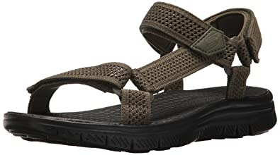 a032b141ff5d Amazon.com  Skechers Sport Men s Flex Advantage S Fisherman Sandal ...