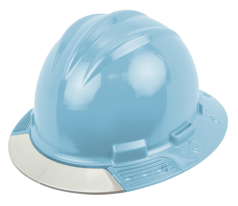 Clear Visor One Size Vinyl Brow Pad Sky Blue Ratchet Suspension Bullard AVSKBC Above View Hard Hat