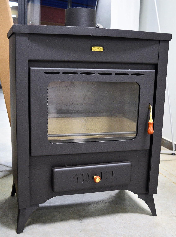 Estufa de leña chimenea quemador de leña 10 kW Air Jacket, Prity Señor: Amazon.es: Bricolaje y herramientas