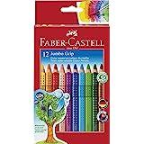 Faber-Castell 12 Jumbo Grip Colored Pencils 12 Pk