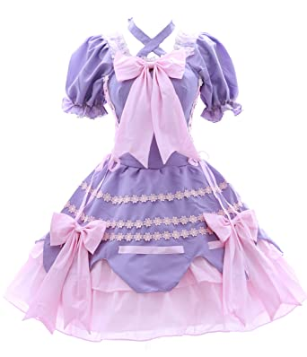 Lila 3101 Gótico Rosa Vestido Lolita es Ropa Amazon Dress Kawaii Cosplay Accesorios M De Story Costume Y Dress Sweet WwRqx4nX