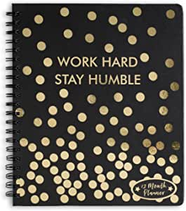 Tri-Coastal Design 12 Month 2018 Agendas (Work Hard, Stay Humble)