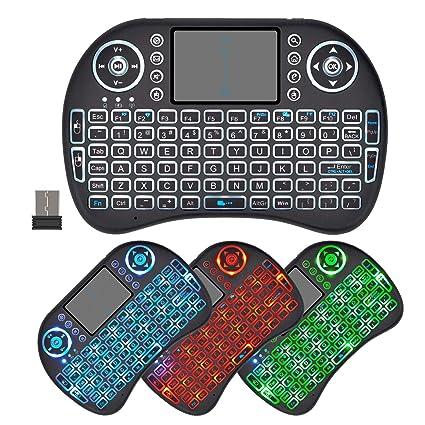 Mini Wireless BackLit Keyboard