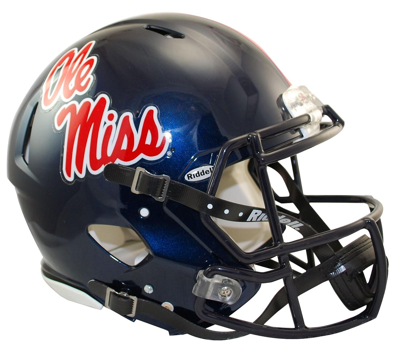 NCAA速度Authenticヘルメット ブルー
