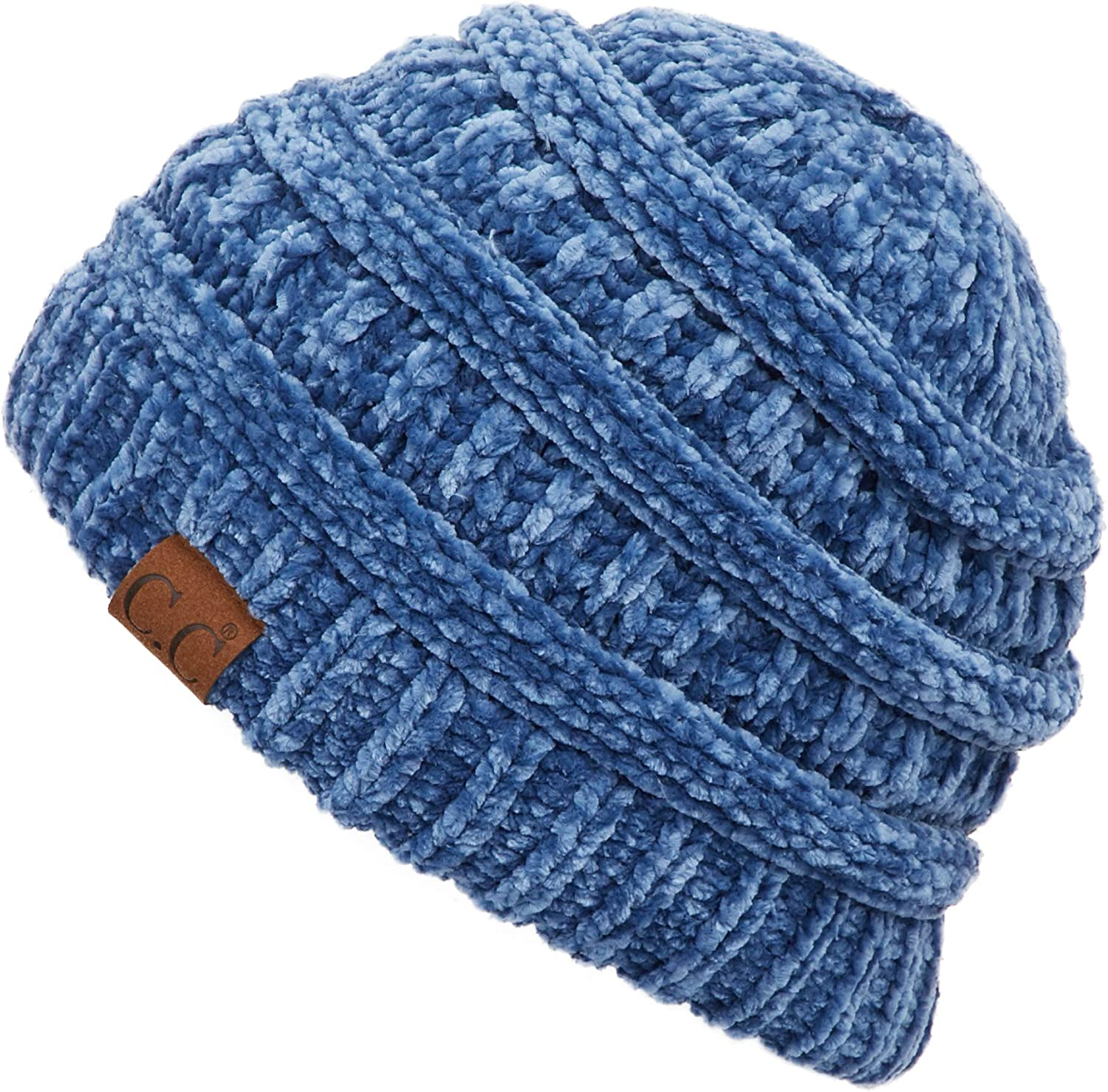 C.C Exclusives Cable Knit Beanie - Thick, Soft & Warm Chunky Beanie Hats (HAT-20A)(HAT-30)(HAT-730)