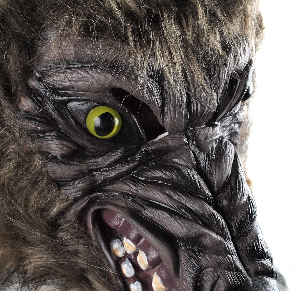 Halloween HORROR Vivaio STORIE CATTIVE wolf-werewolf MASCHERA 1 Size