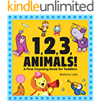 1, 2, 3, Animals!: A First Counting Book for Toddlers