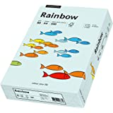 Papyrus 88042695 Multifunktionspapier Rainbow 80 g/m², A4 500 Blatt hellblau