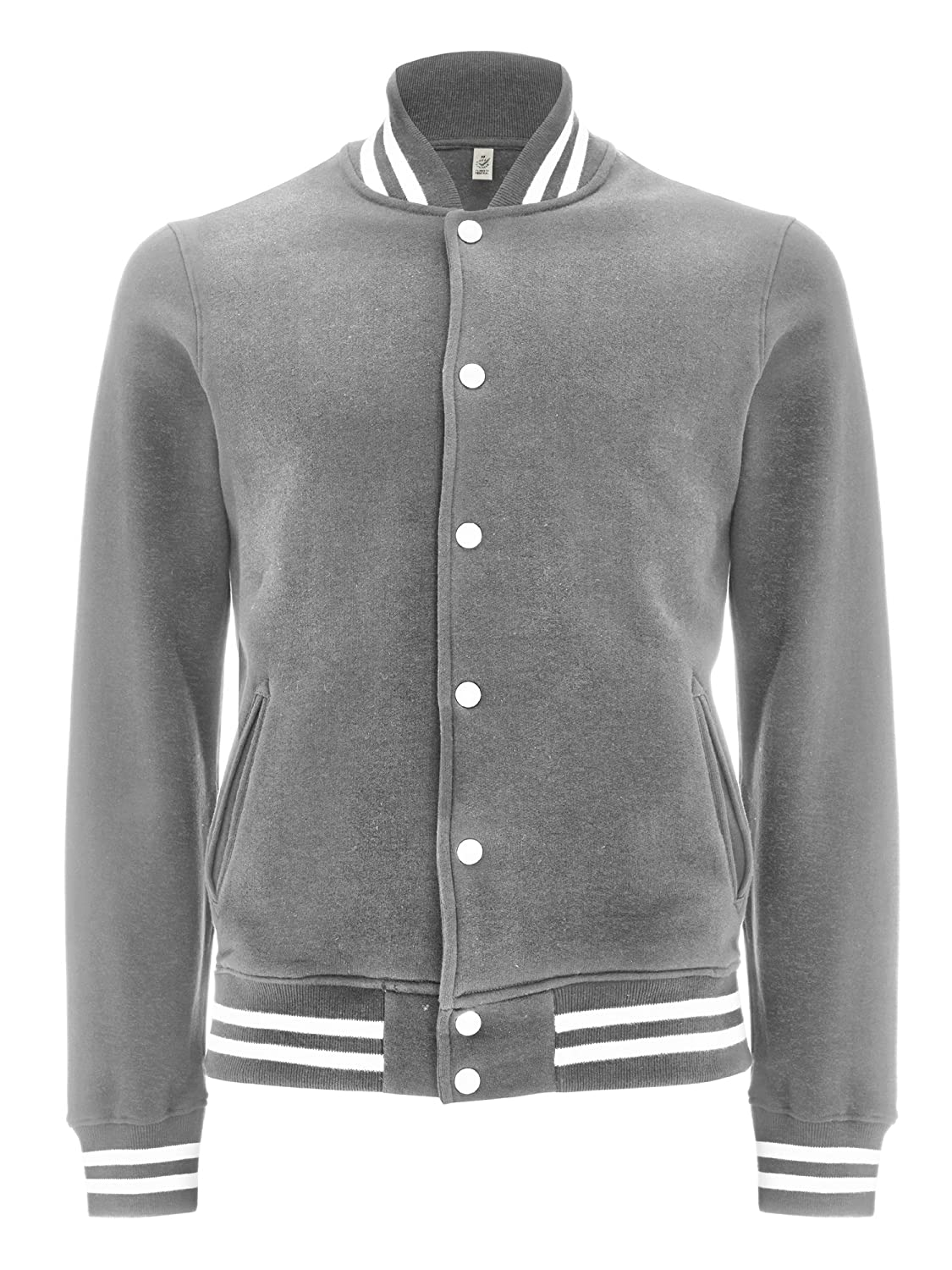 Womens Varsity Jacket - Letterman College Jacket for Women - 100% Organic Cotton Underhood of London