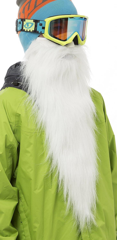 Taglia Unica Bianco Beardski Merlin Maschera