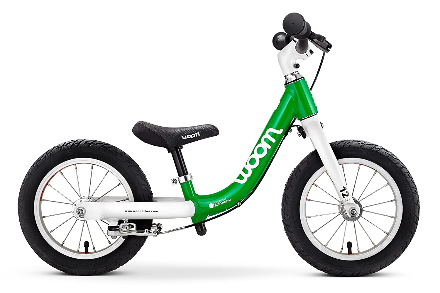 "WOOM BIKES USA Woom 1 Balance Bike 12"" Ages 18 Months to 3.5 Years"