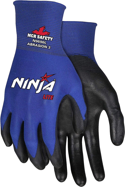 Memphis Large Ninja Lite 18 Gauge Black Polyuretha