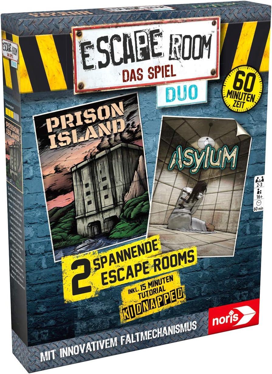 Noris 606101838 Escape Room Das Spiel-Duo - Juego de Mesa ...