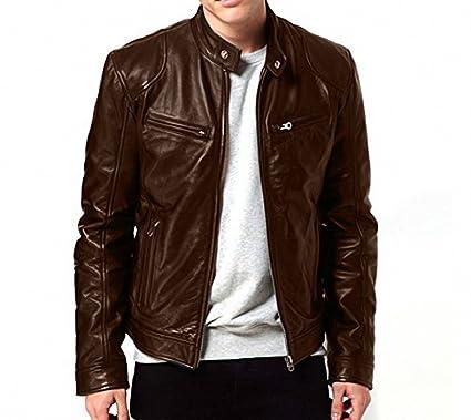 Zahr Bomber Series Men's Biker Jackets: Amazon.in: Clothing ...