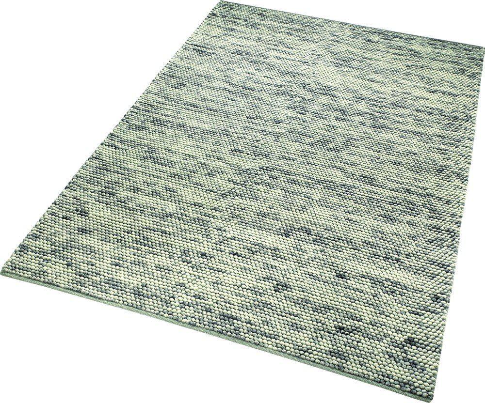 110 x 60 x 1.5 cm Schurwolle /& Baumwolle ESPRIT Knob Moderner Markenteppich Grau