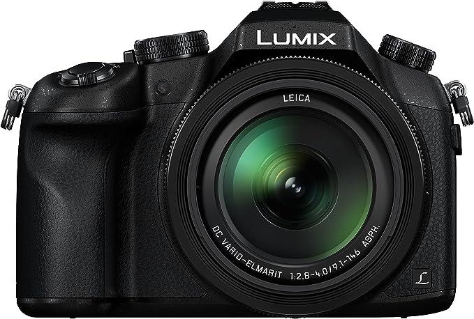 Panasonic DMC-FZ1000 Lumix Caméscope 3 pouces (7,6 cm) 20,1 Mpix Zoom Optique 16x USB/HDMI/Wi-Fi Noir avec l'objectif