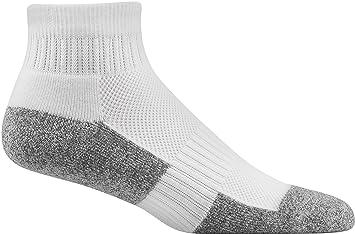 366e9b9cd5 Amazon.com: Dr. Comfort No-Show Diabetic Sock White, Large, Men's ...