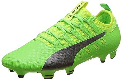 super popular 928cc 69035 Puma Evopower Vigor 2 FG, Chaussures de Football Homme, Vert (Green Gecko  Black