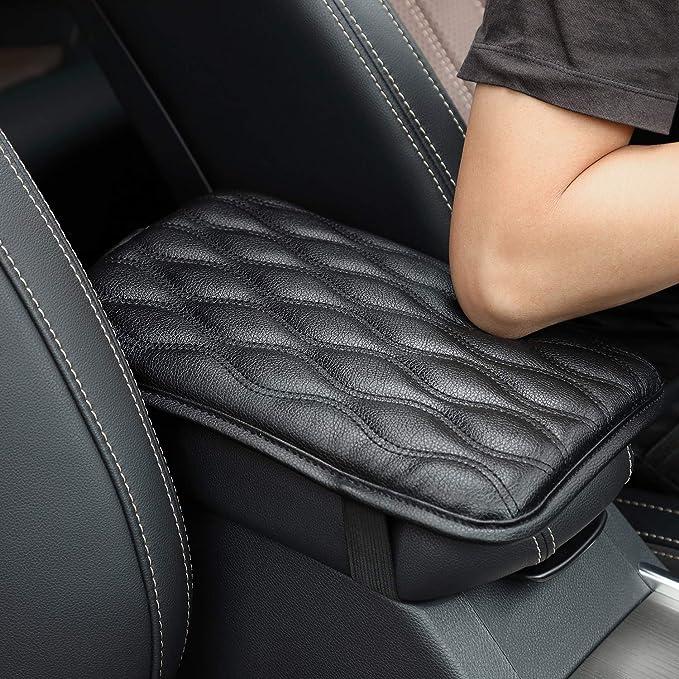 Black Monrand Center Console Armrest Cover Fits for 2018-2019 Toyota Camry Car Armrest Cover Saver