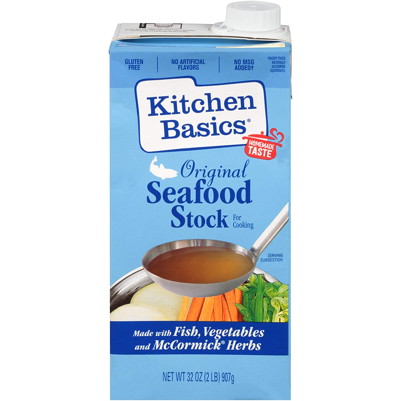 Kitchen Basics Original Seafood Stock, 32 fl oz
