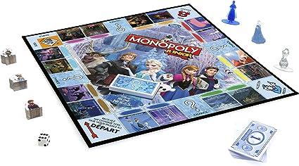 Hasbro Monopoly - Juego de Mesa Junior, con diseño Frozen (versión en francés): Amazon.es: Juguetes y juegos