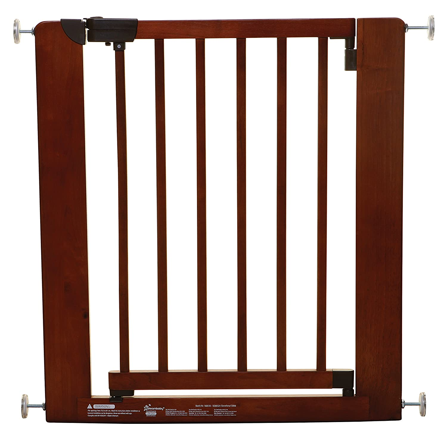 Dreambaby Barcelona Wooden Safety Gate (73.5-81 cm) F2066