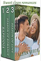 Her (Not So) Perfect Love Match: Opposites attract sweet, faith-filled romances set in a small-town Kindle Edition