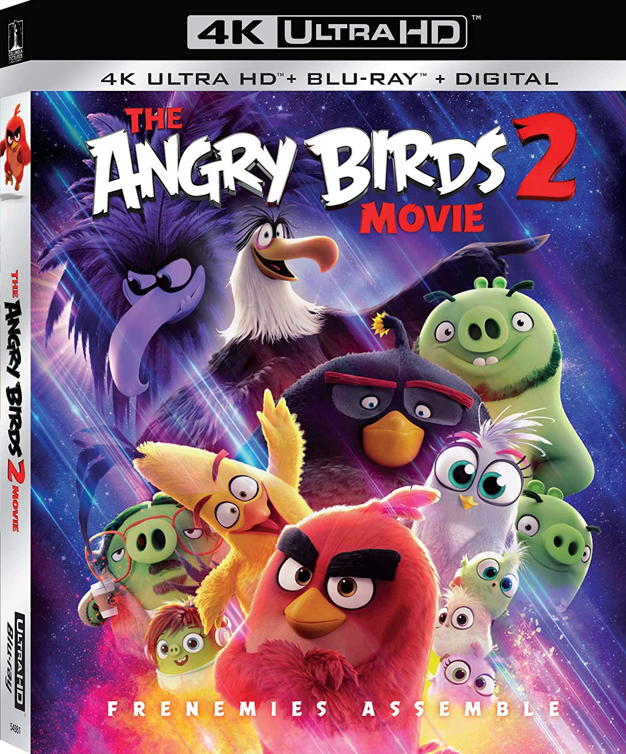 Amazon Com The Angry Birds Movie 2 Blu Ray Thurop Van Orman
