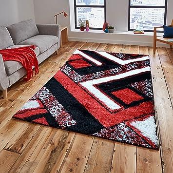 Amazon Com Gloria Rug Super Soft Indoor Modern Shag Rug Silky