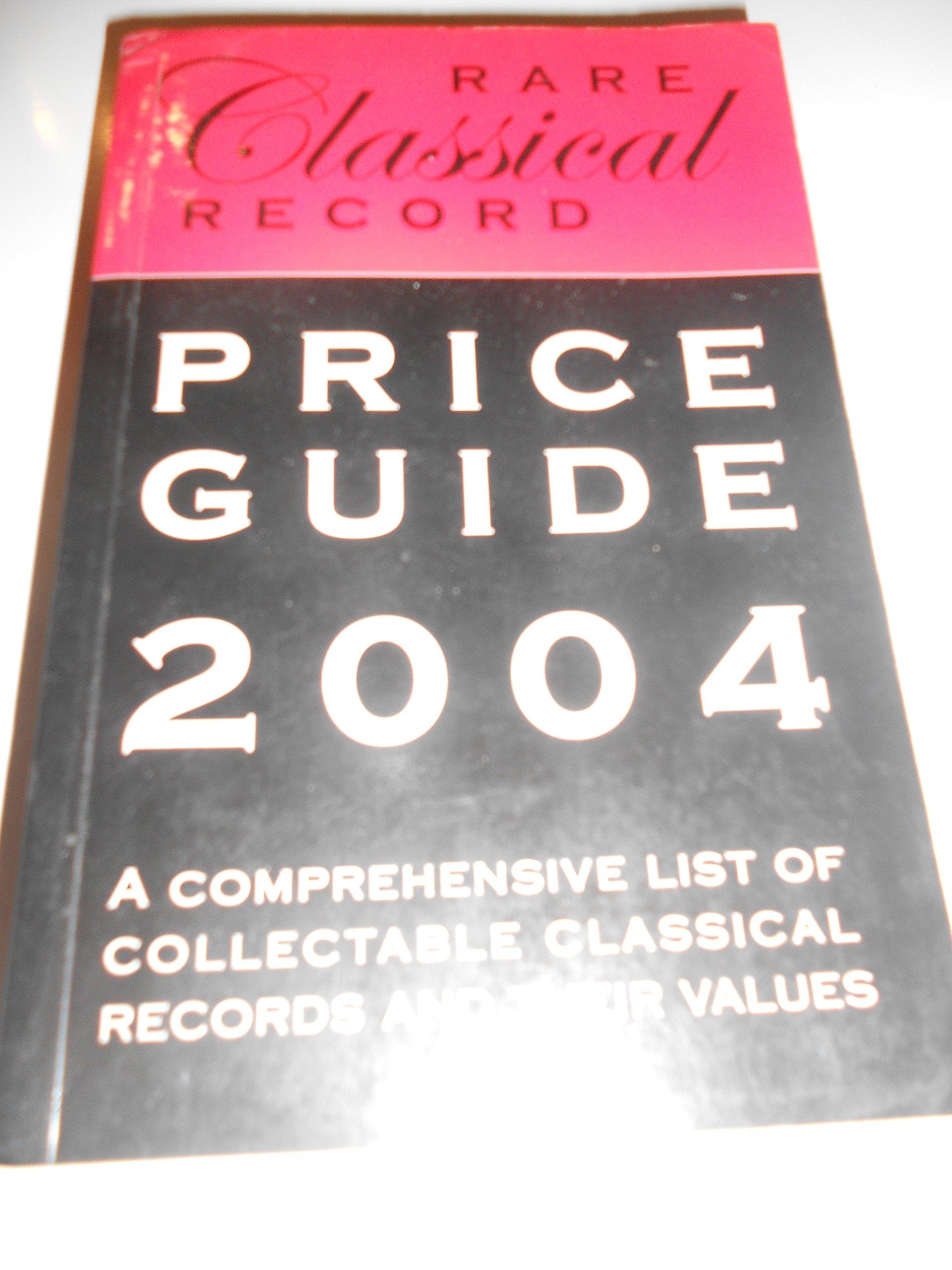 Rare record prices guide