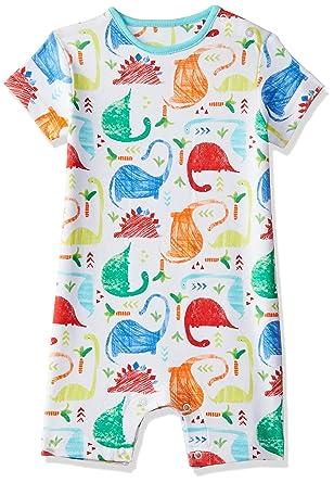 d3101fd45c98 Mothercare Baby Boys  Regular Fit Cotton Romper Suit  Amazon.in ...