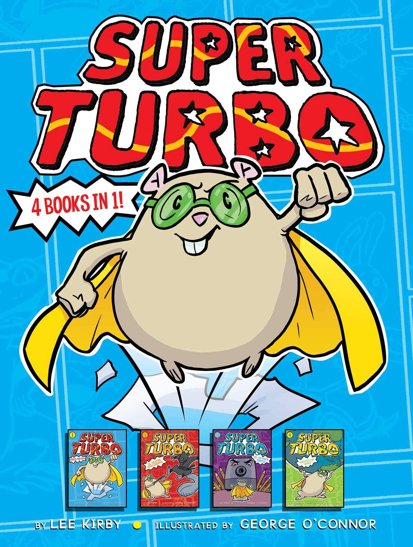 Amazon.com: Super Turbo 4 Books in 1!: Super Turbo Saves the ...