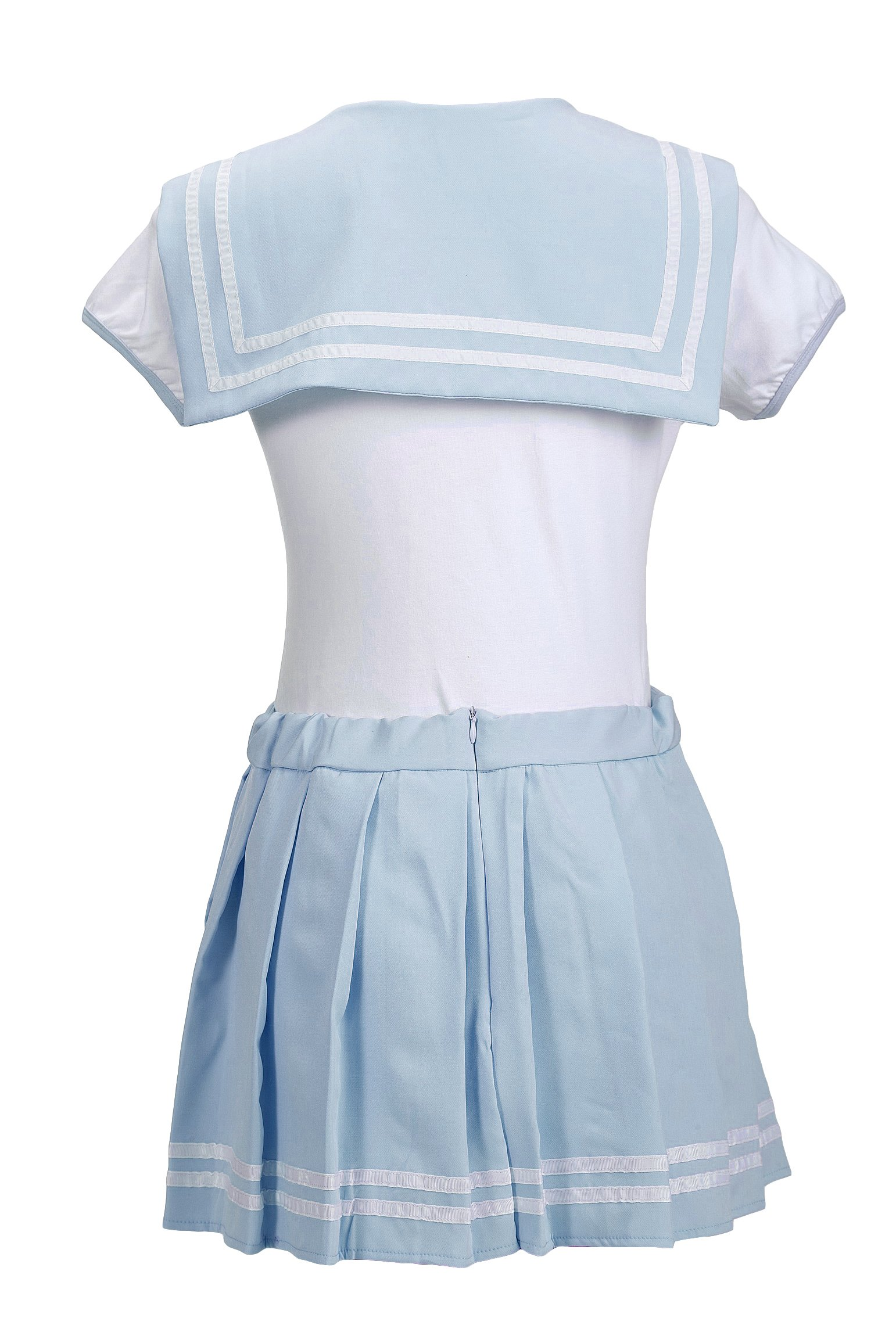 7d1837fdb272 Littleforbig Adult Baby Onesie Diaper Lover (ABDL) Snap Crotch Romper  Onesie Pajamas - Cosplay Magical Onesie Skirt Set Blue S - LA01-LB-013TB-S    Jumpsuits ...