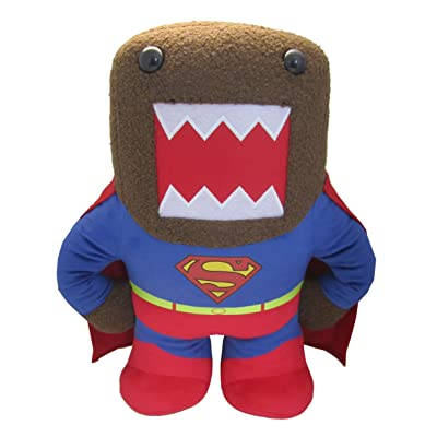 "Domo Superman Medium 9"" Plush: Toys & Games"